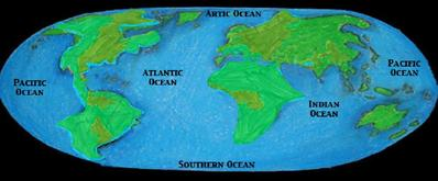About Marine Biome - The five major oceans